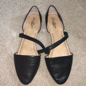 Leather Lucky Brand Flats
